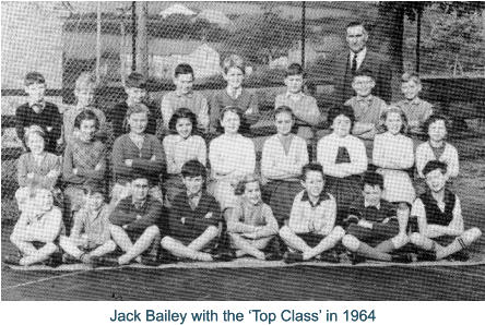 Jack Bailey with the 'Top Class' in 1964 Jack Bailey with the 'Top Class' in 1964